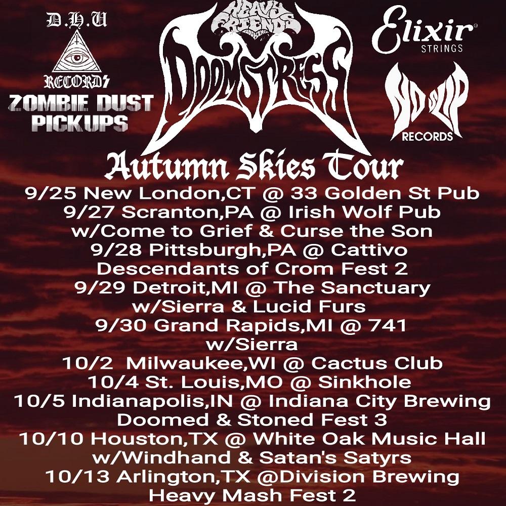 doomstress tour dates