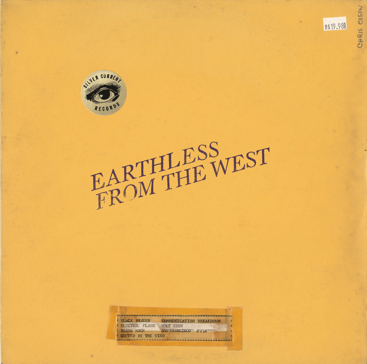 earthless from the west