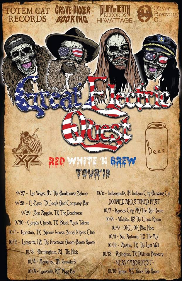 great electric quest red white n brew tour final poster