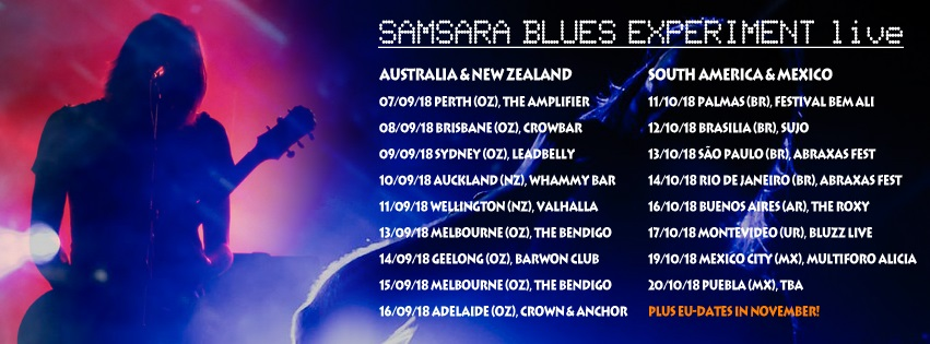 samsara blues experiment tour banner