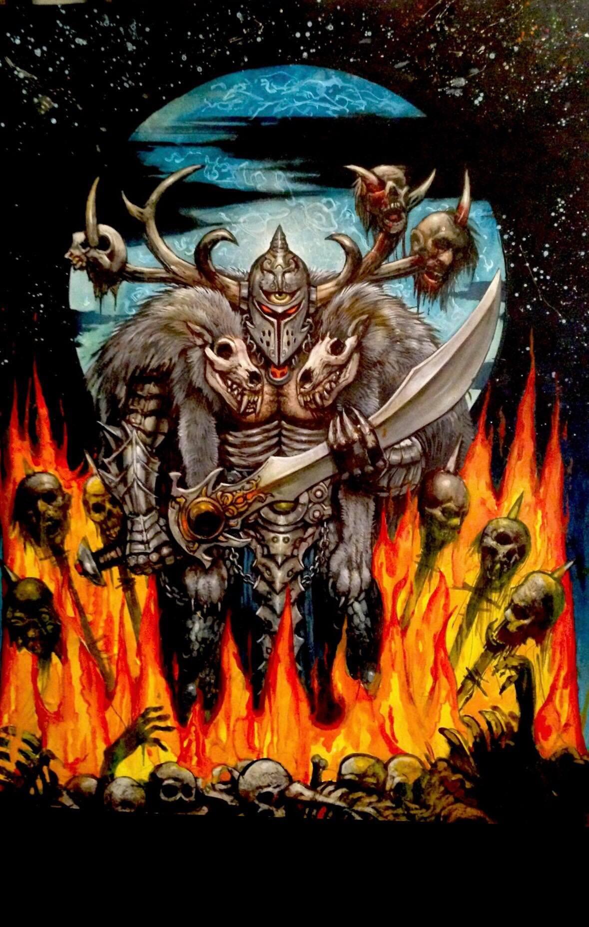the horned god cover