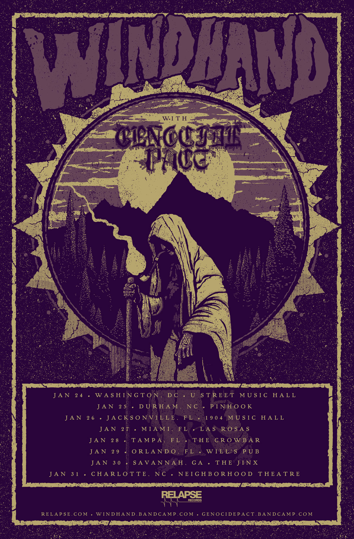 windhand winter tour