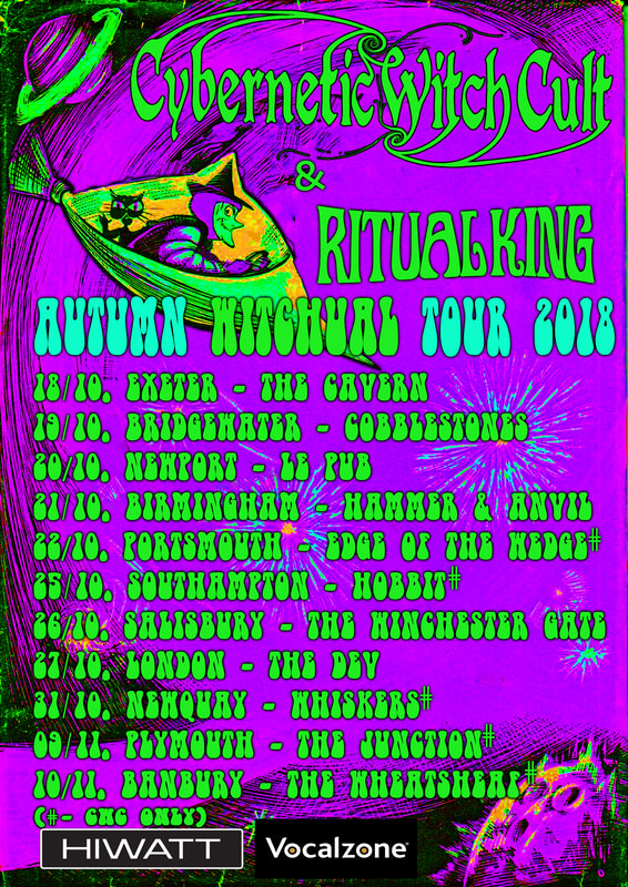 cybernetic witch cult tour