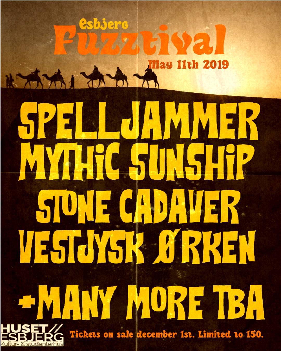 esbjerg fuzztival 2019 poster