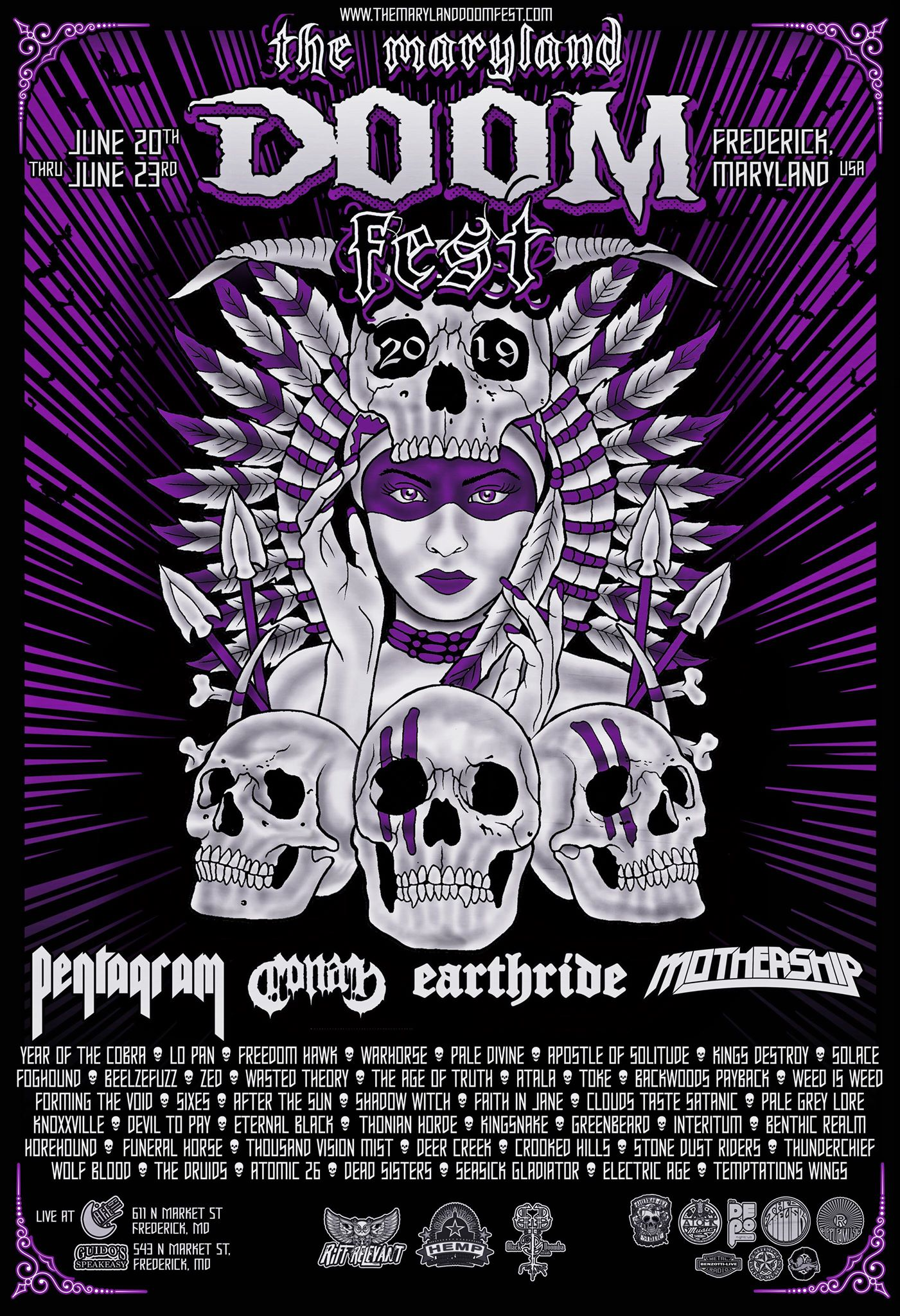 maryland doom fest 2019 poster