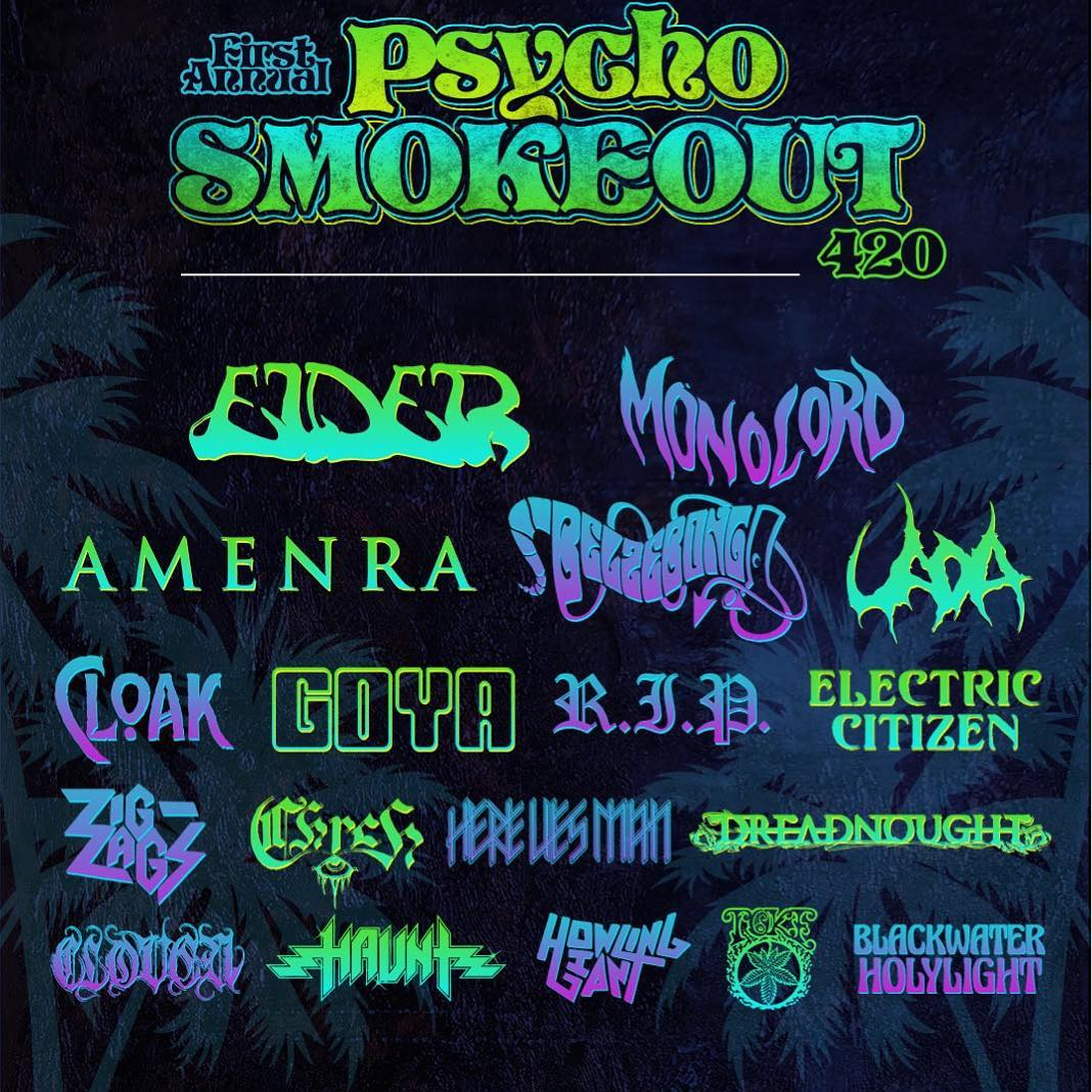 psycho smokeout 2019 poster