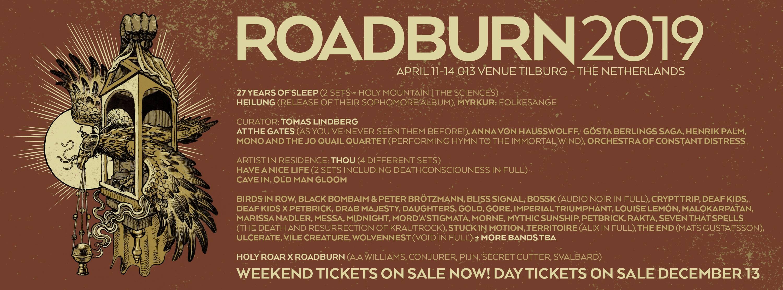 roadburn 2019 banner