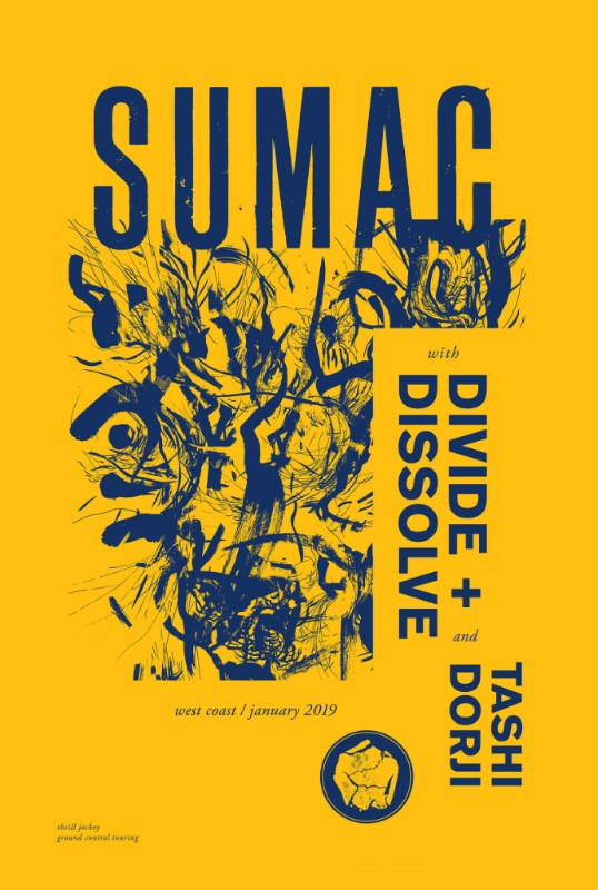 sumac tour poster