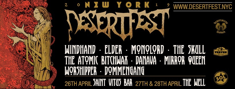DESERTFEST NYC 2019 BANNER