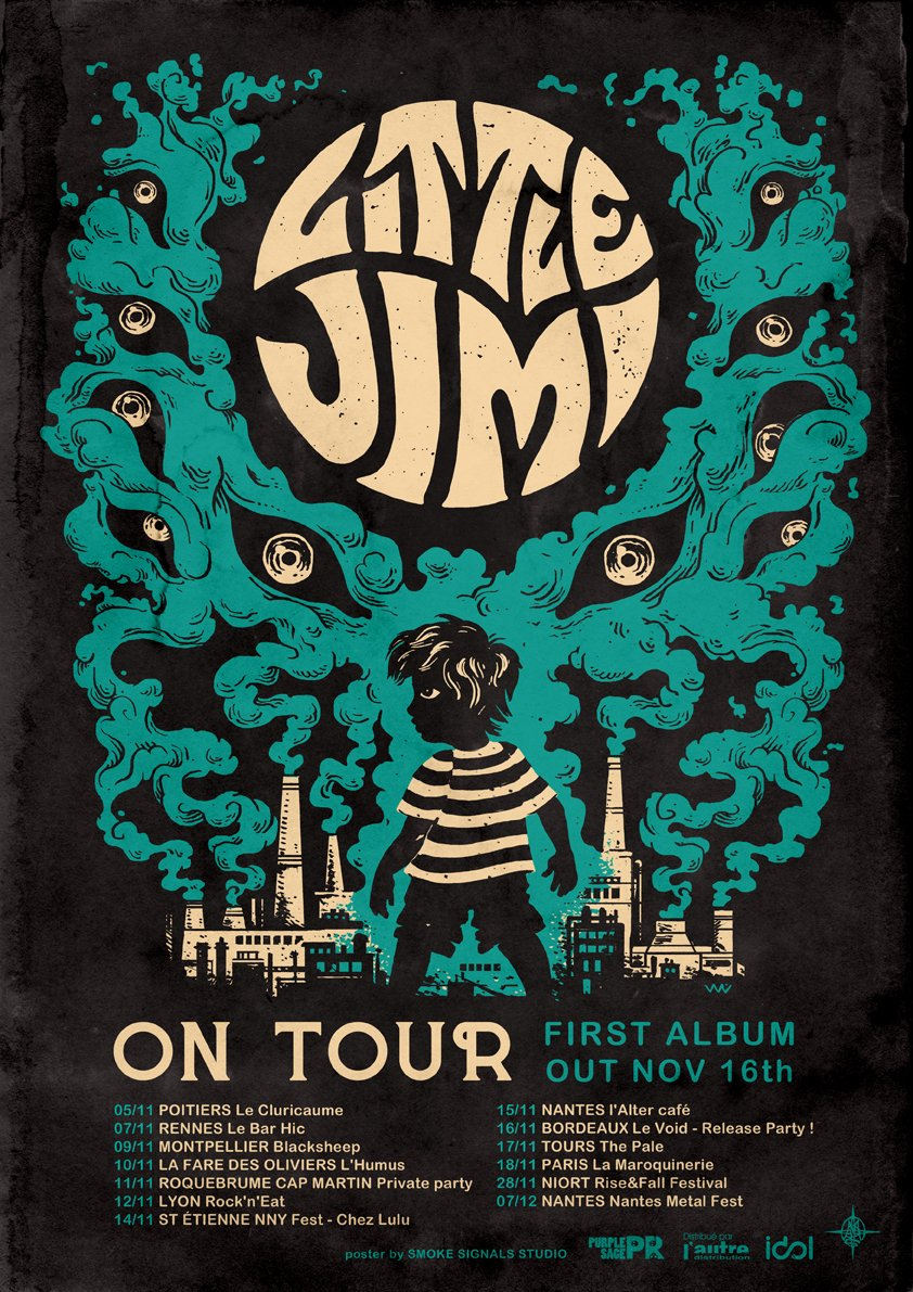 little jimi tour poster