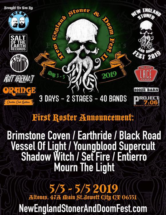 new england stoner and doom fest ii first poster