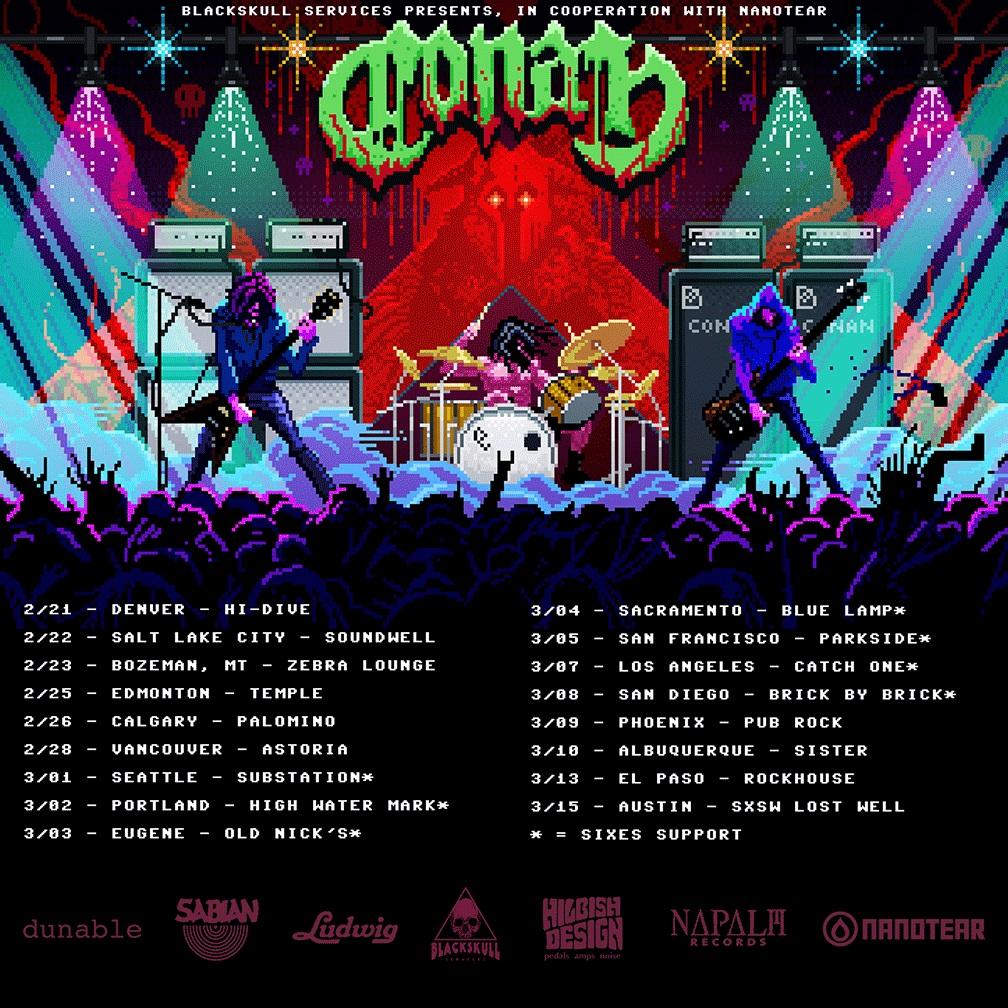 conan tour