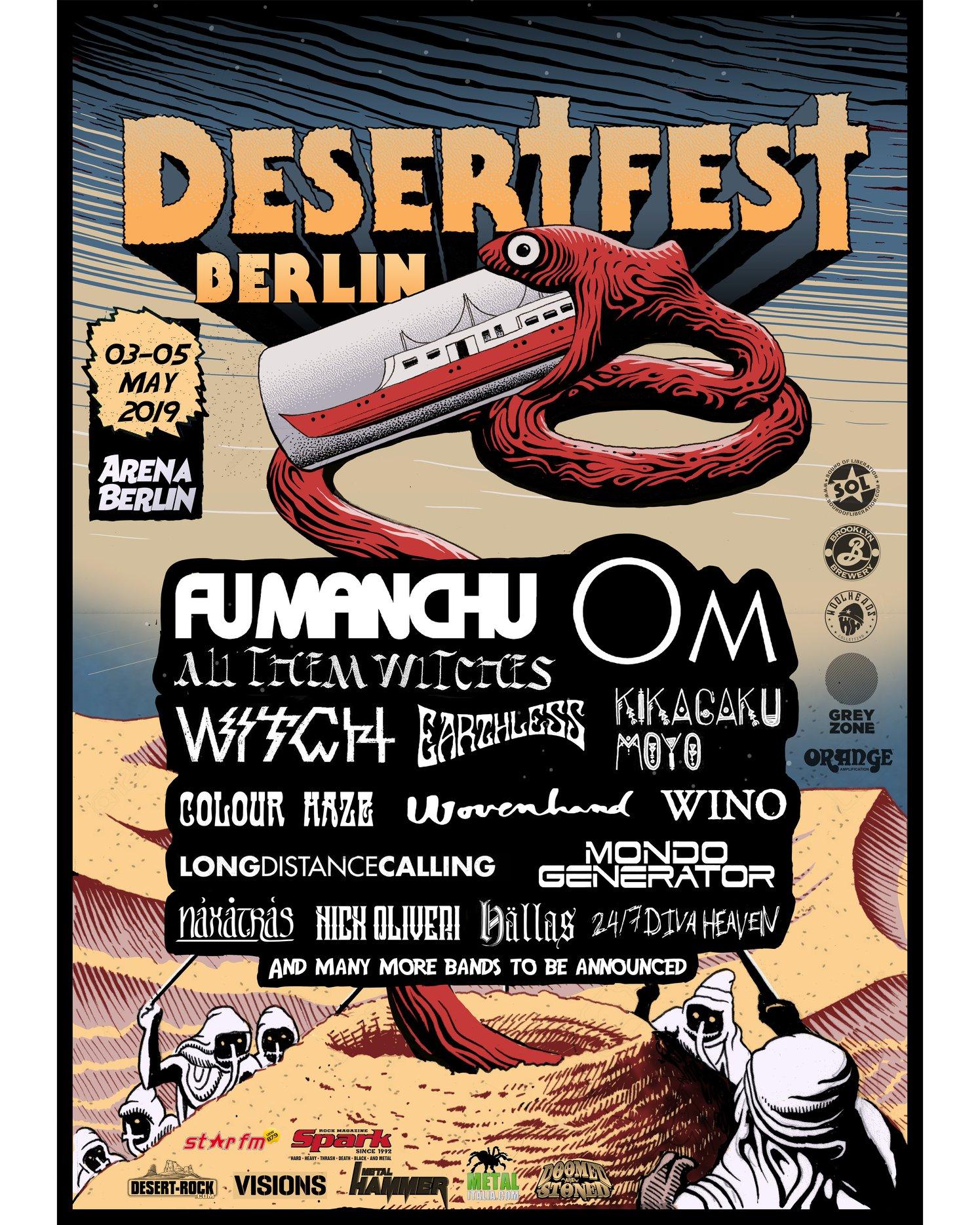 desertfest berlin 2019 poster