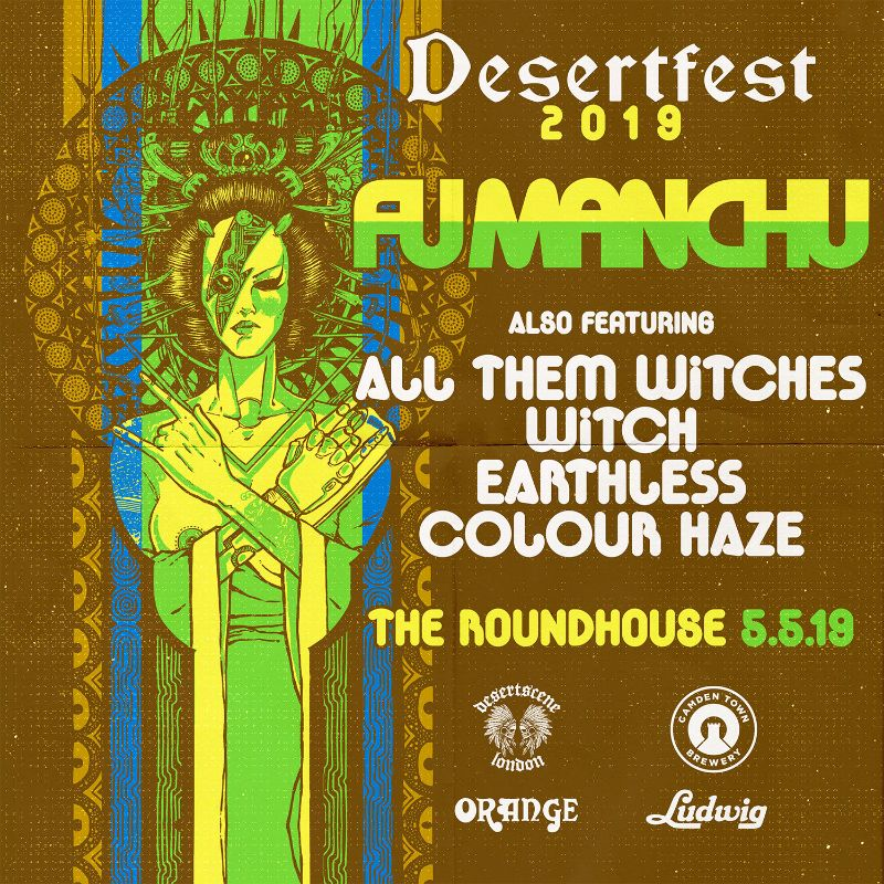 desertfest london 2018 fu manchu