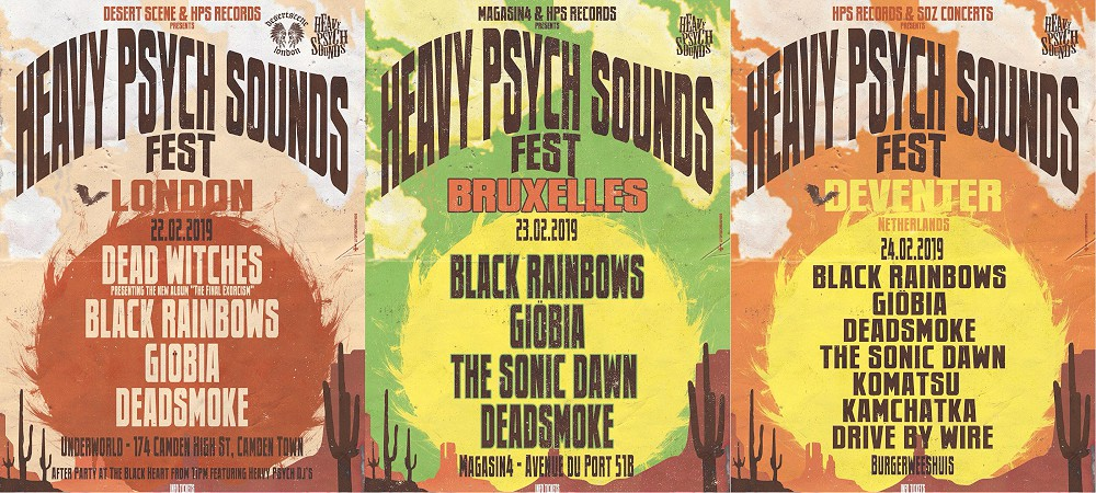 heavy psych sounds fest 2019 posters
