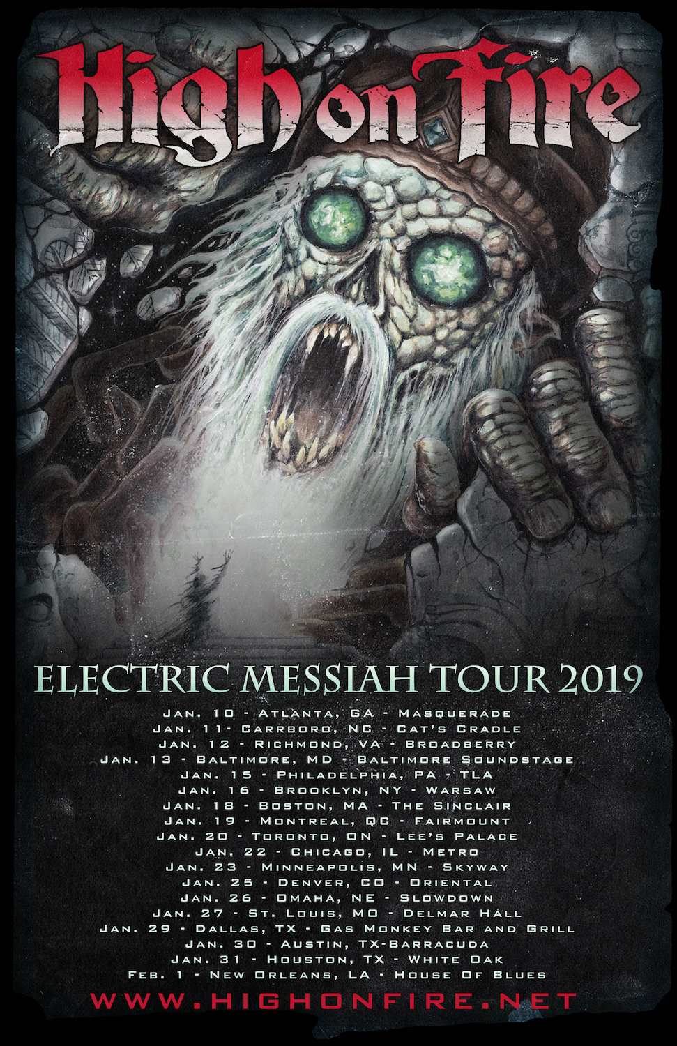high on fire 2019 tour