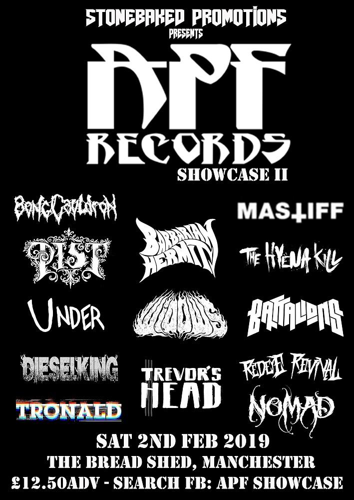 APF Records Showcase 2019