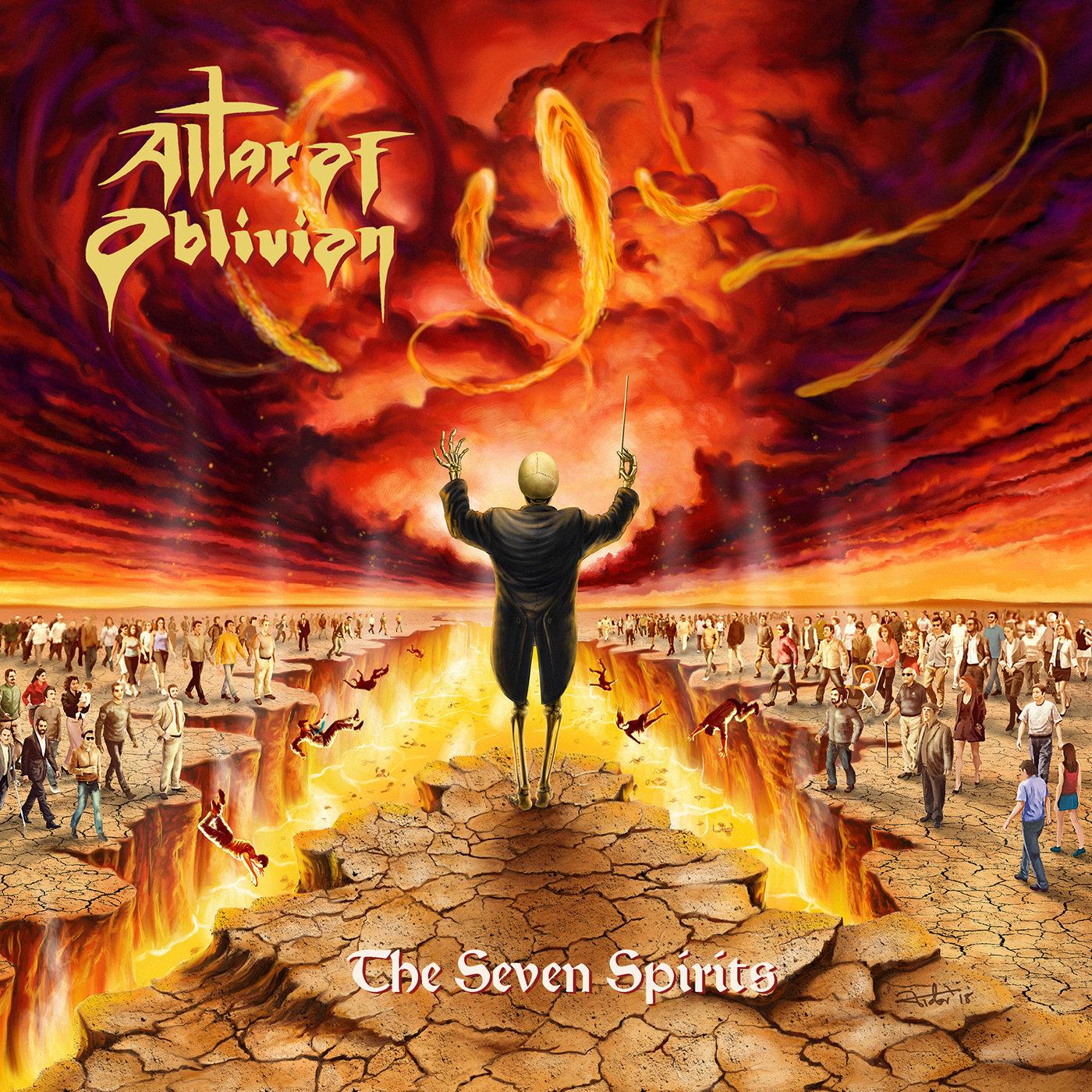 altar of oblivion the seven spirits