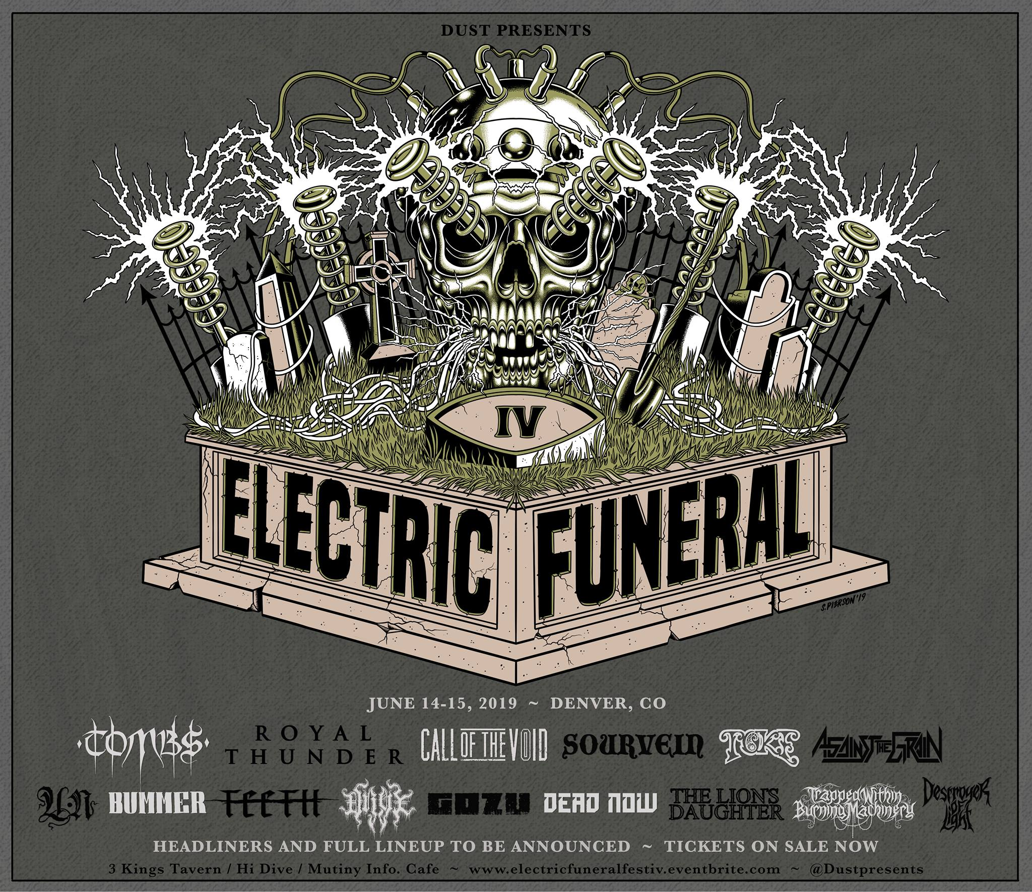 electric funeral fest iv poster