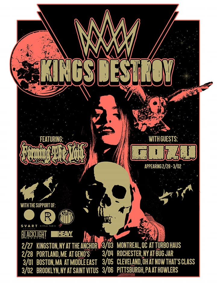 kings destroy tour poster