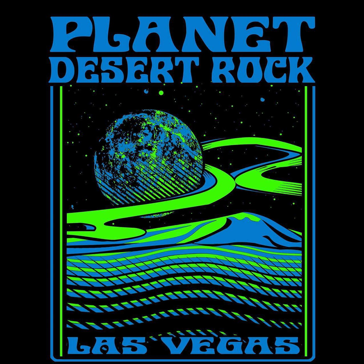 planet desert rock weekend logo
