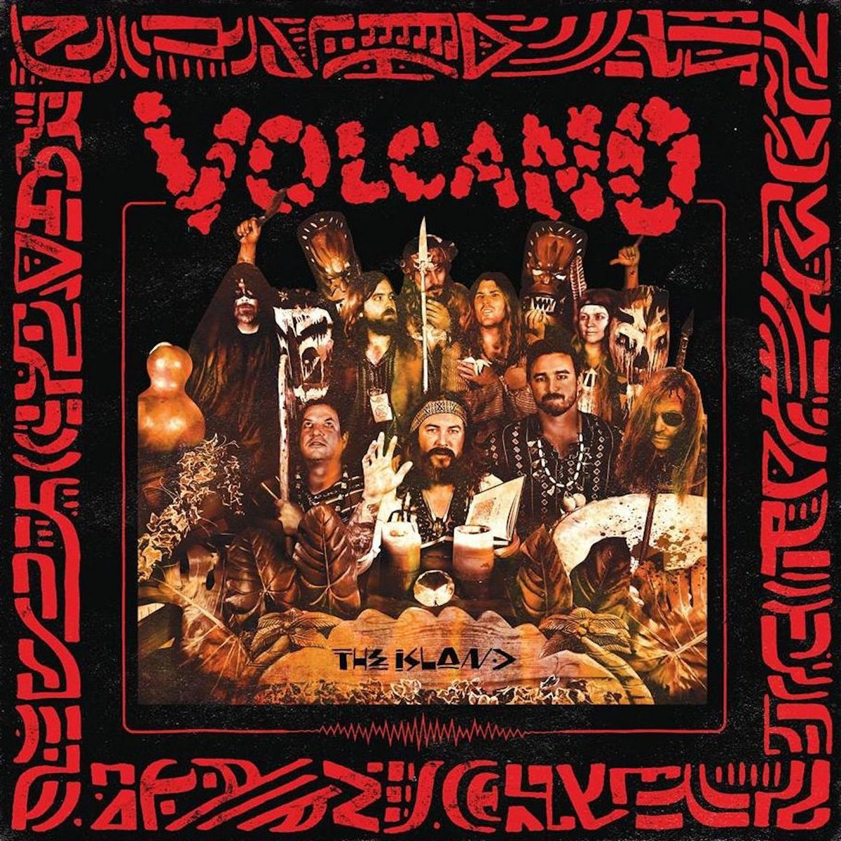 volcano the island