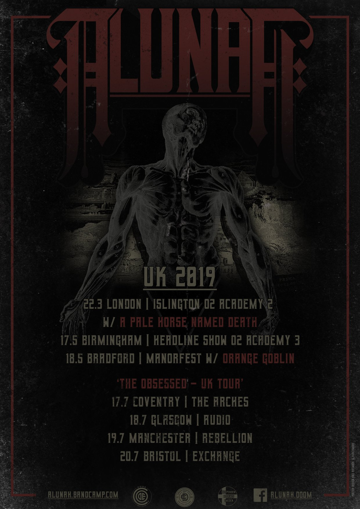 alunah uk shows
