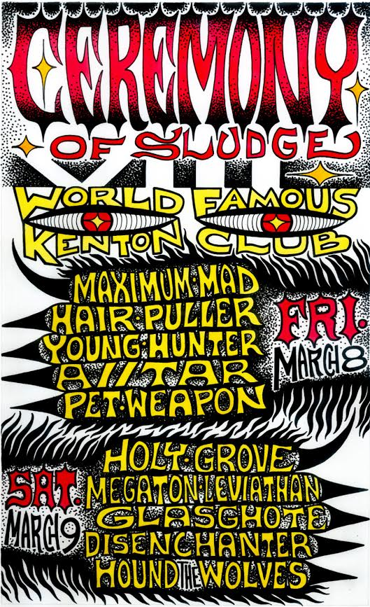 ceremony of sludge viii poster