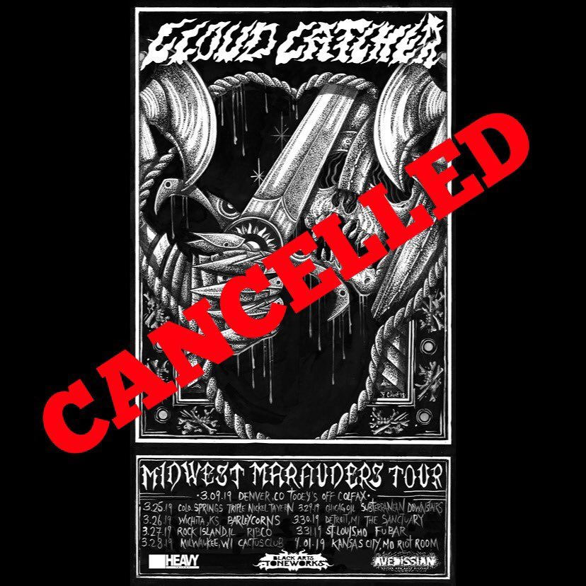cloud catcher tour canceled