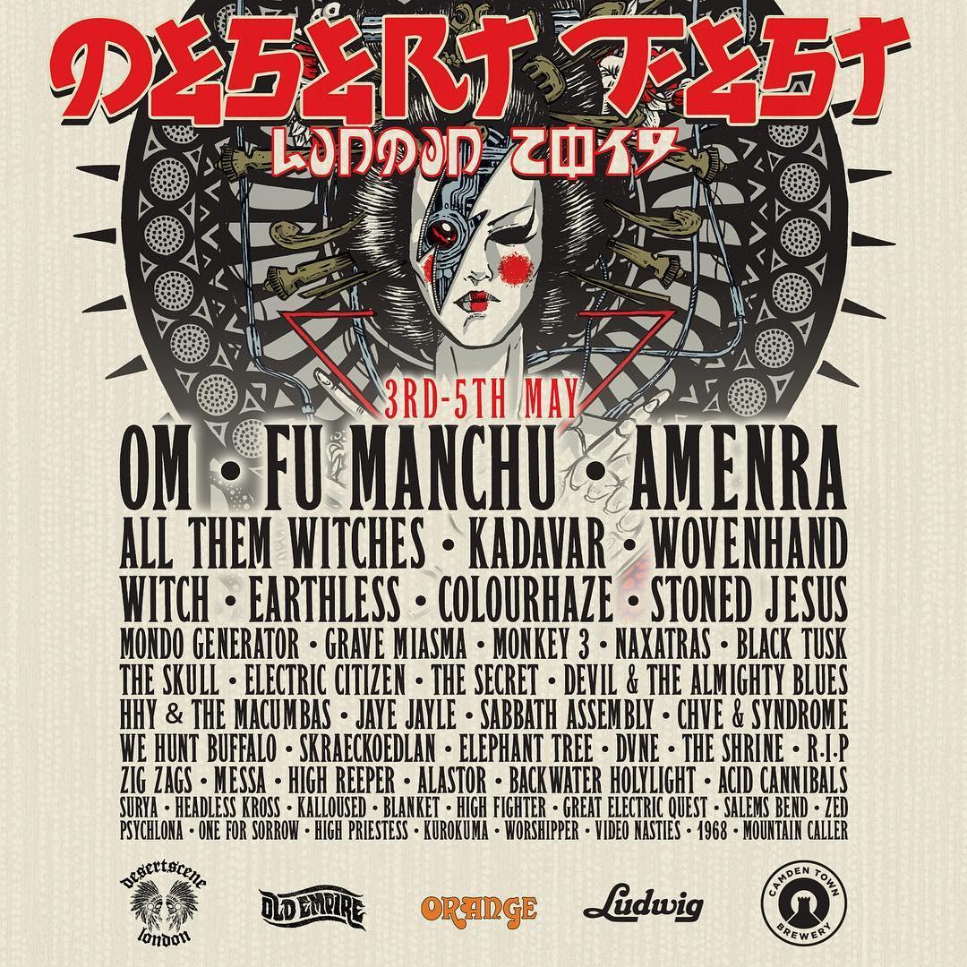 desertfest london 2019 final announcement
