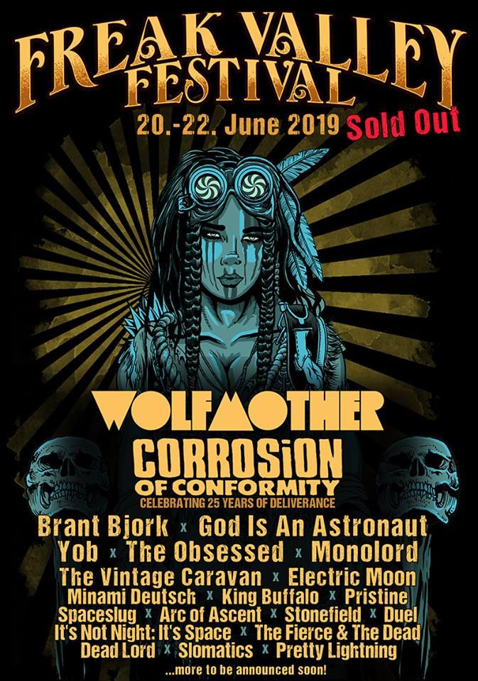 freak valley 2019 poster