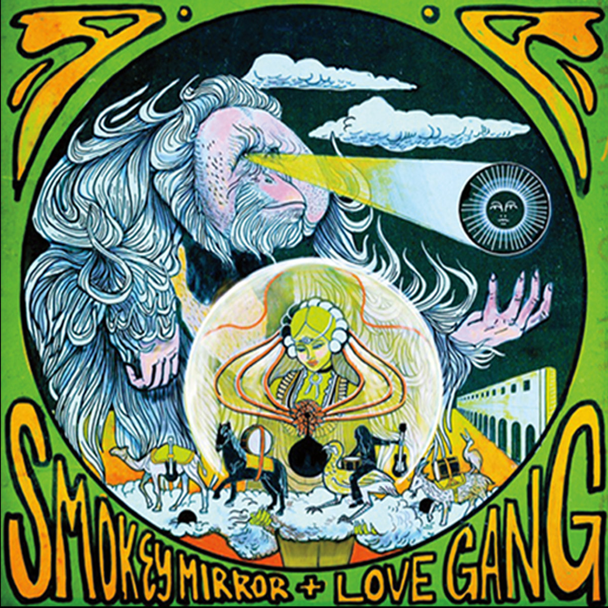 smokey mirror love gang split double ep