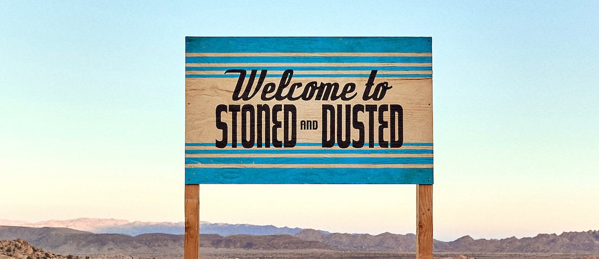 stoned and dusted banner