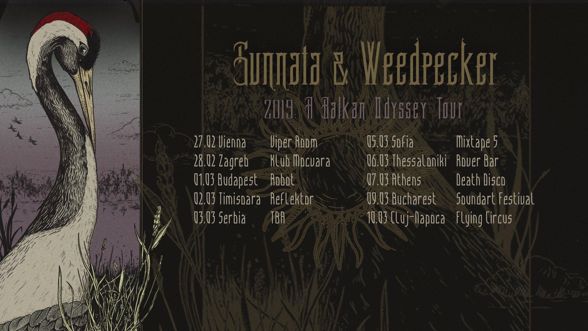 sunnata weedpecker tour