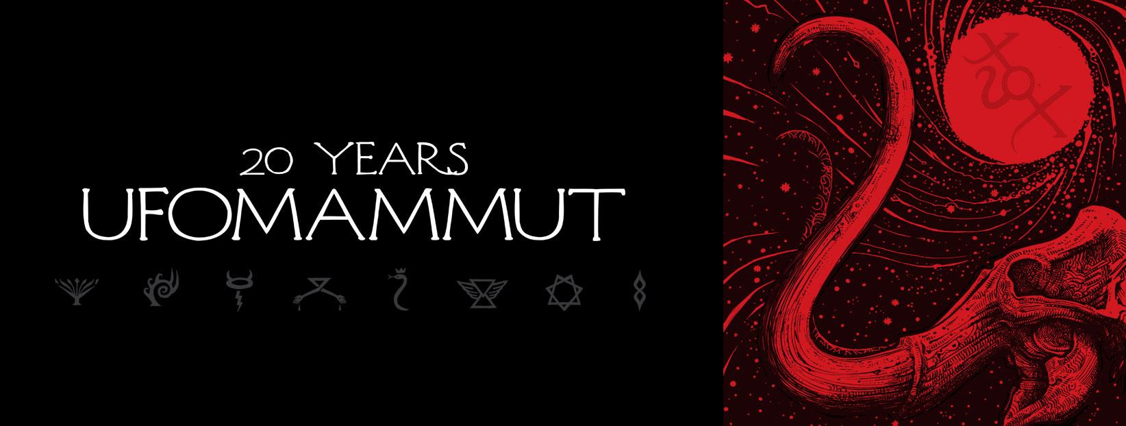 ufomammut 20 years banner