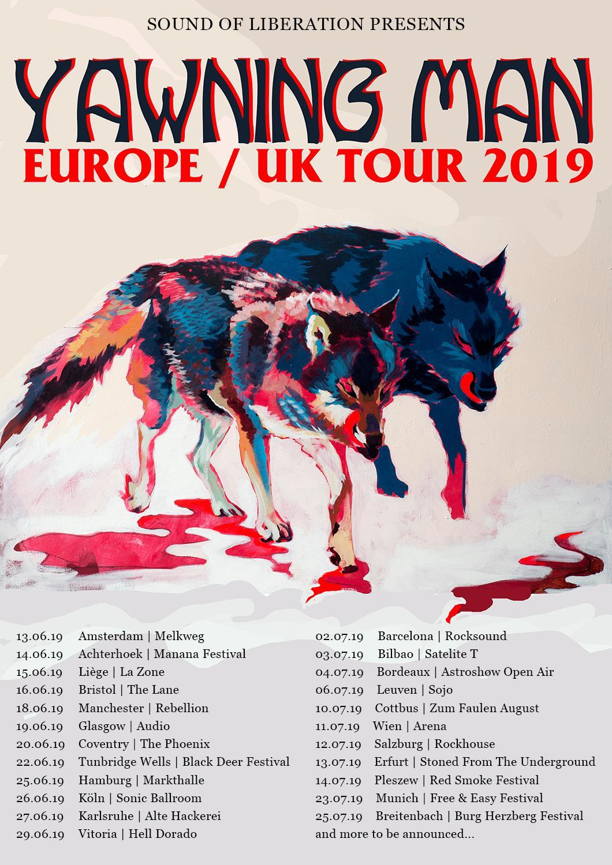 yawning man euro tour