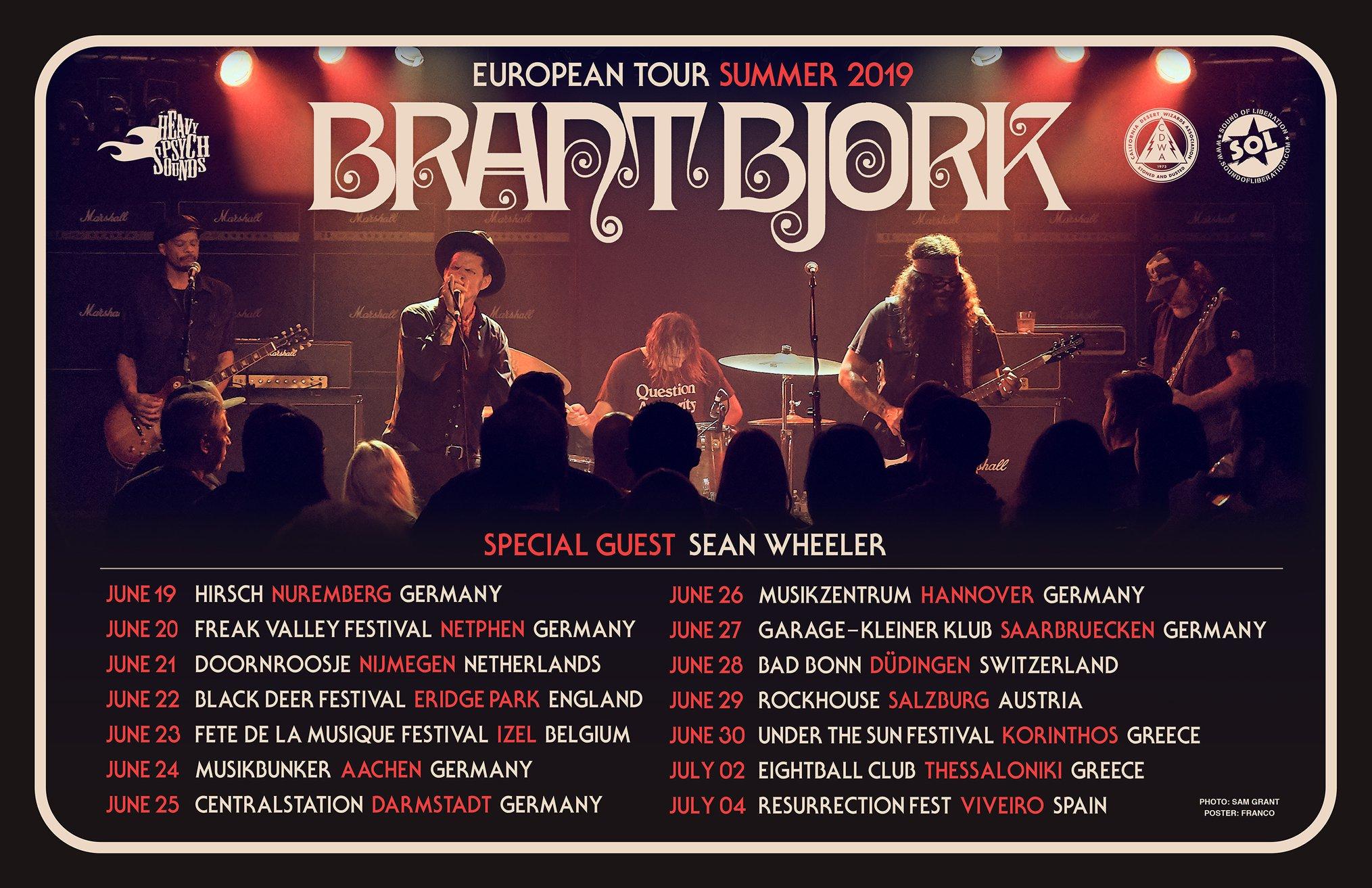 brant bjork tour