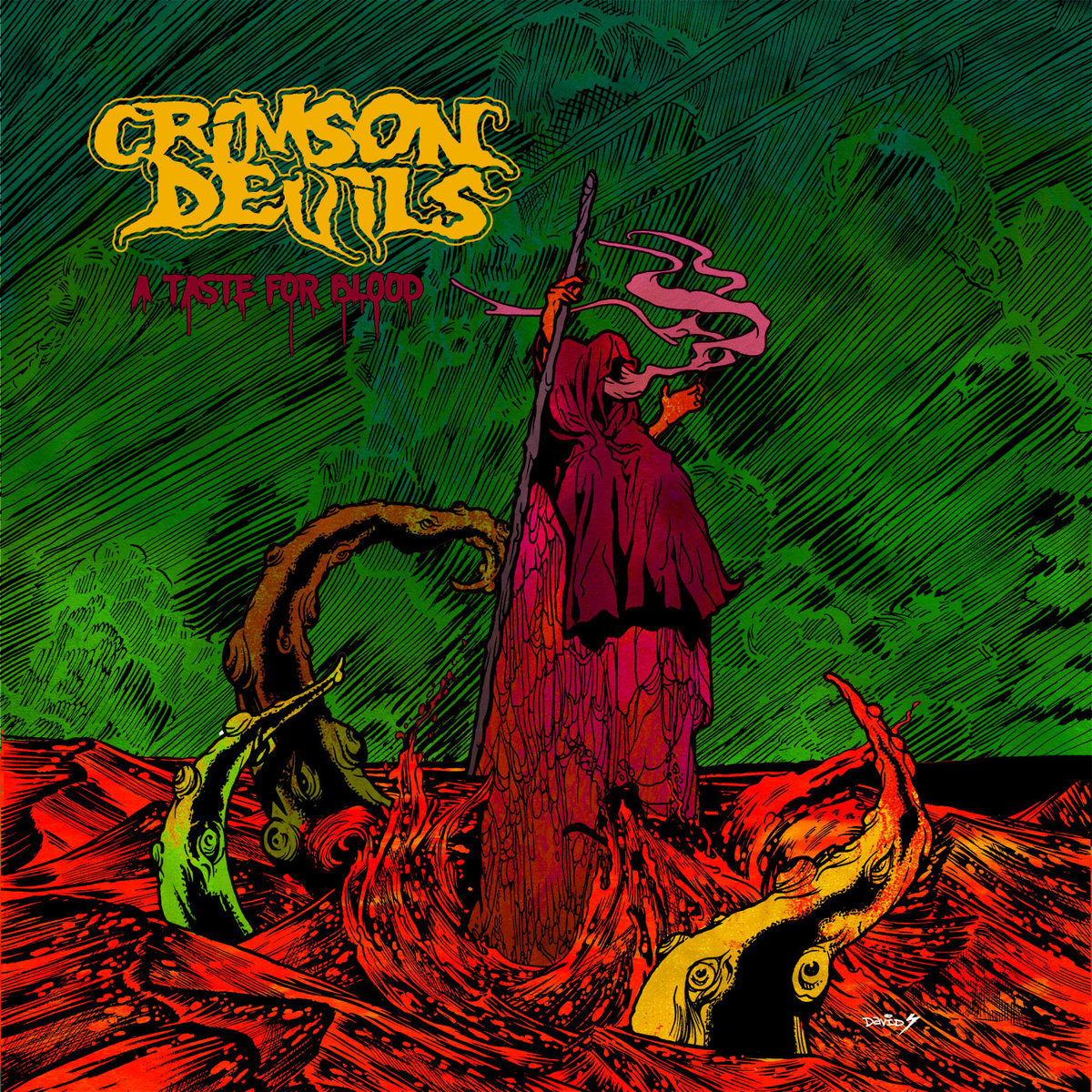 crimson devils a taste for blood