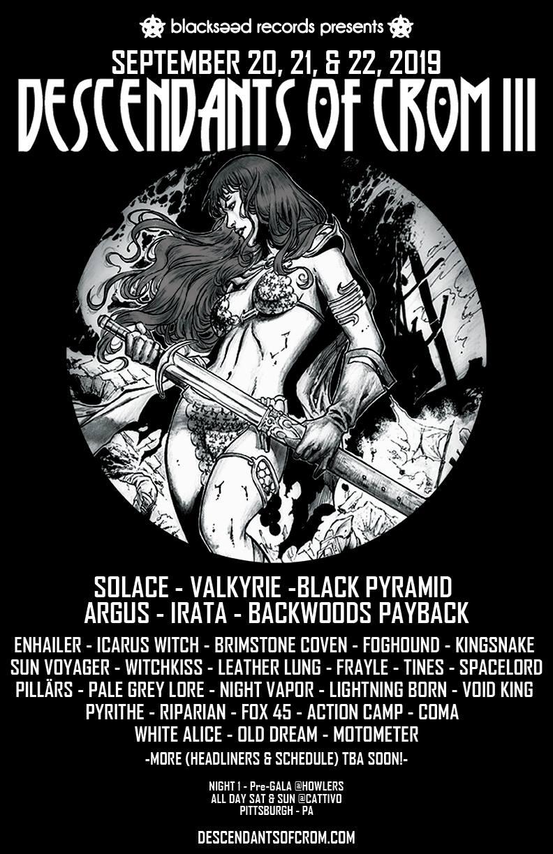 descendants of crom iii poster