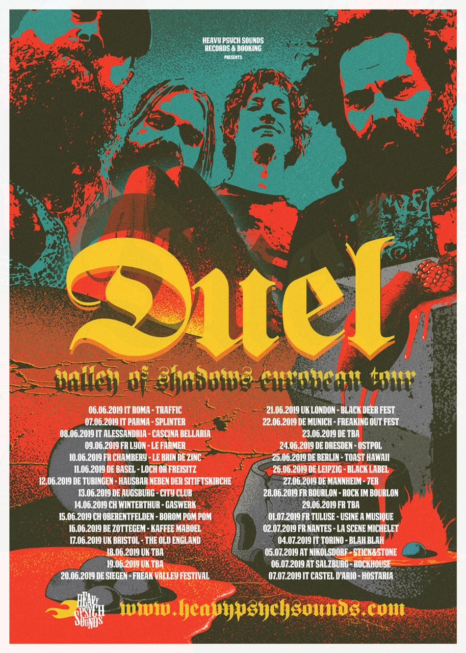 duel tour poster