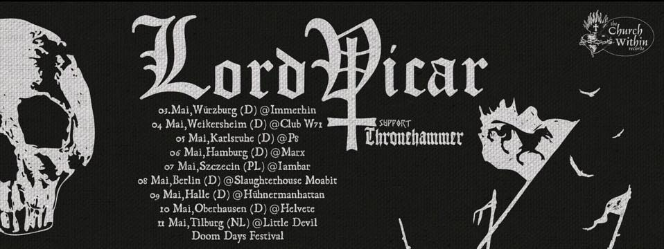 lord vicar tour dates