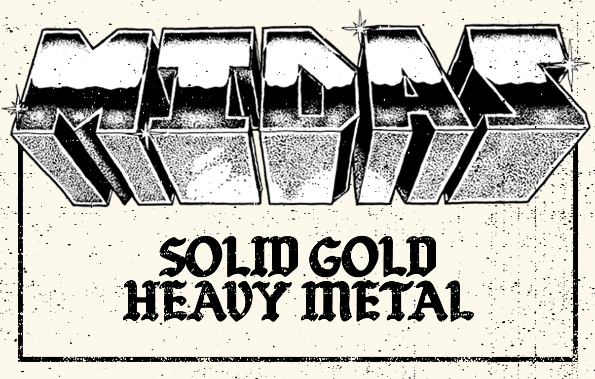 midas solid gold heavy metal cover