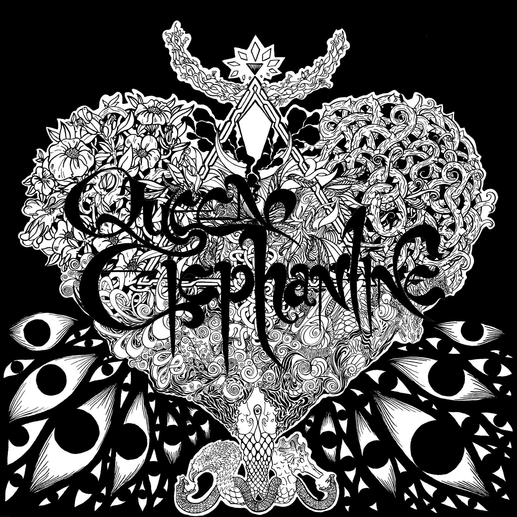 queen elephantine gorgon art preview