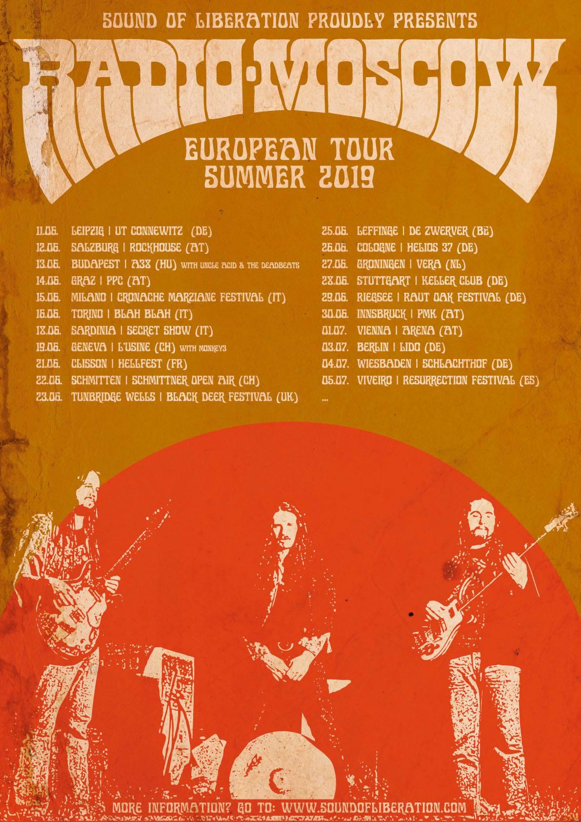 radio moscow tour