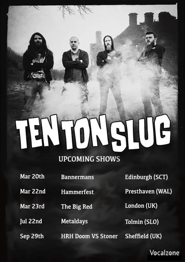 ten ton slug shows