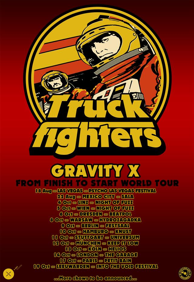 truckfighters gravity x tour