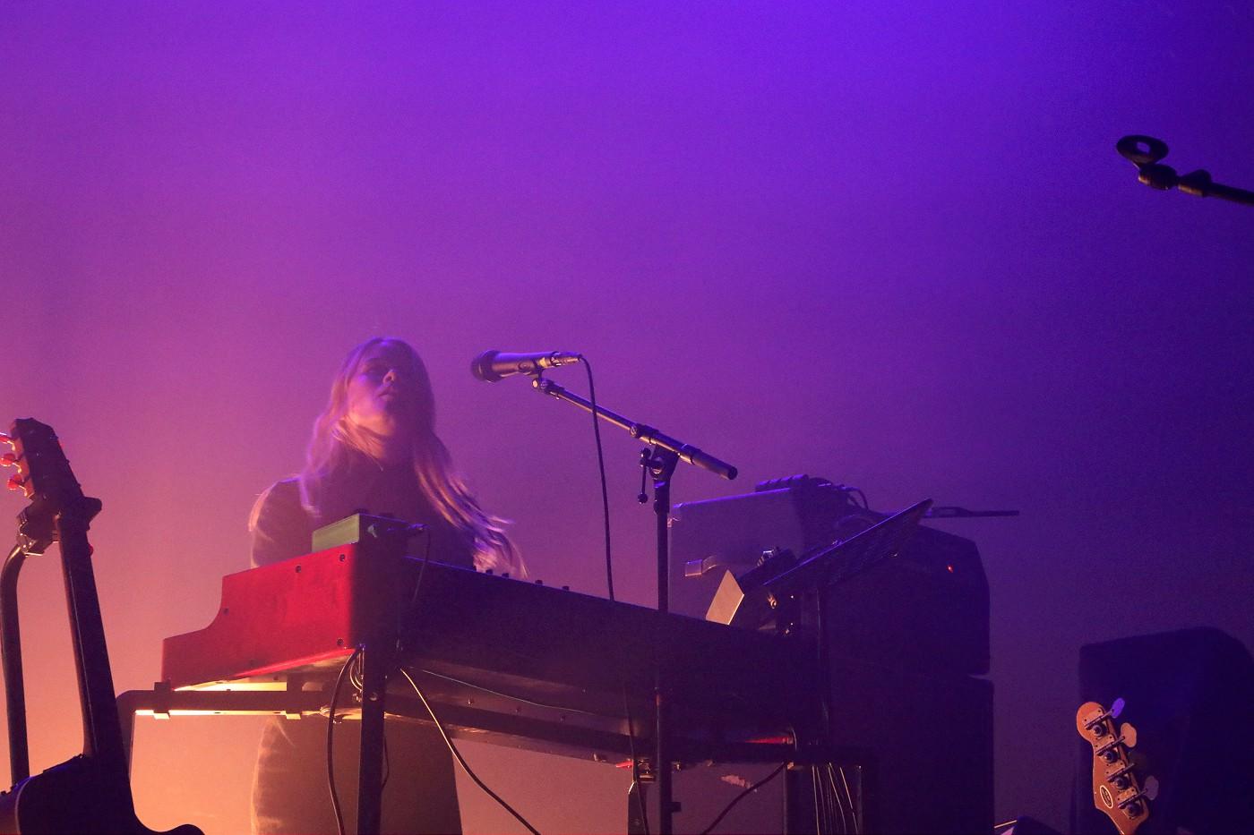Anna Von Hausswolff (Photo by JJ Koczan)