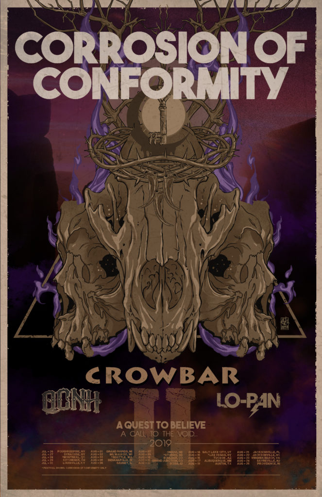 corrosion of conformity crowbar lo pan tour