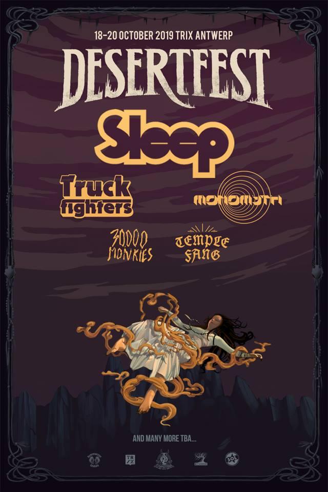 desertfest belgium 2019 first poster