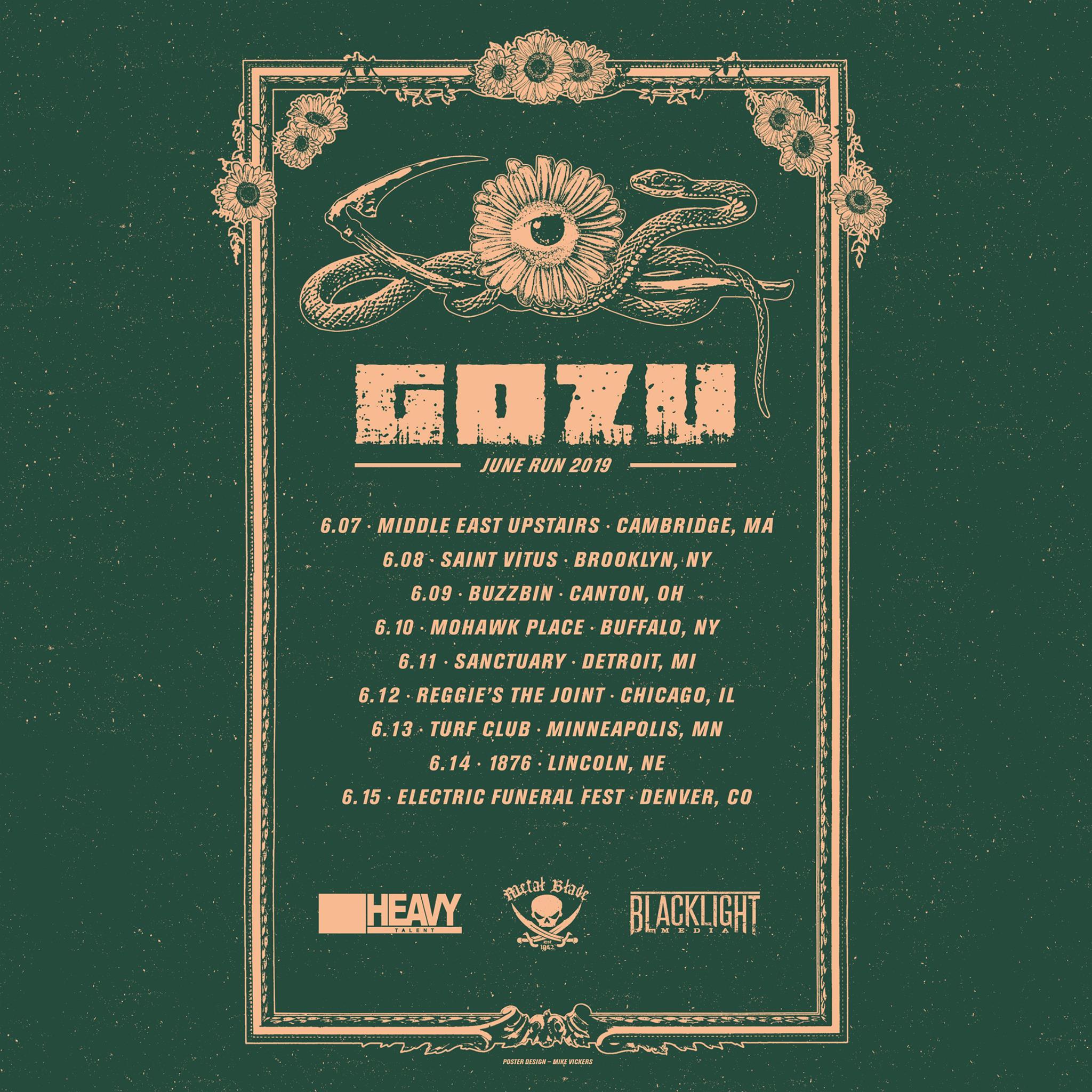 gozu june tour